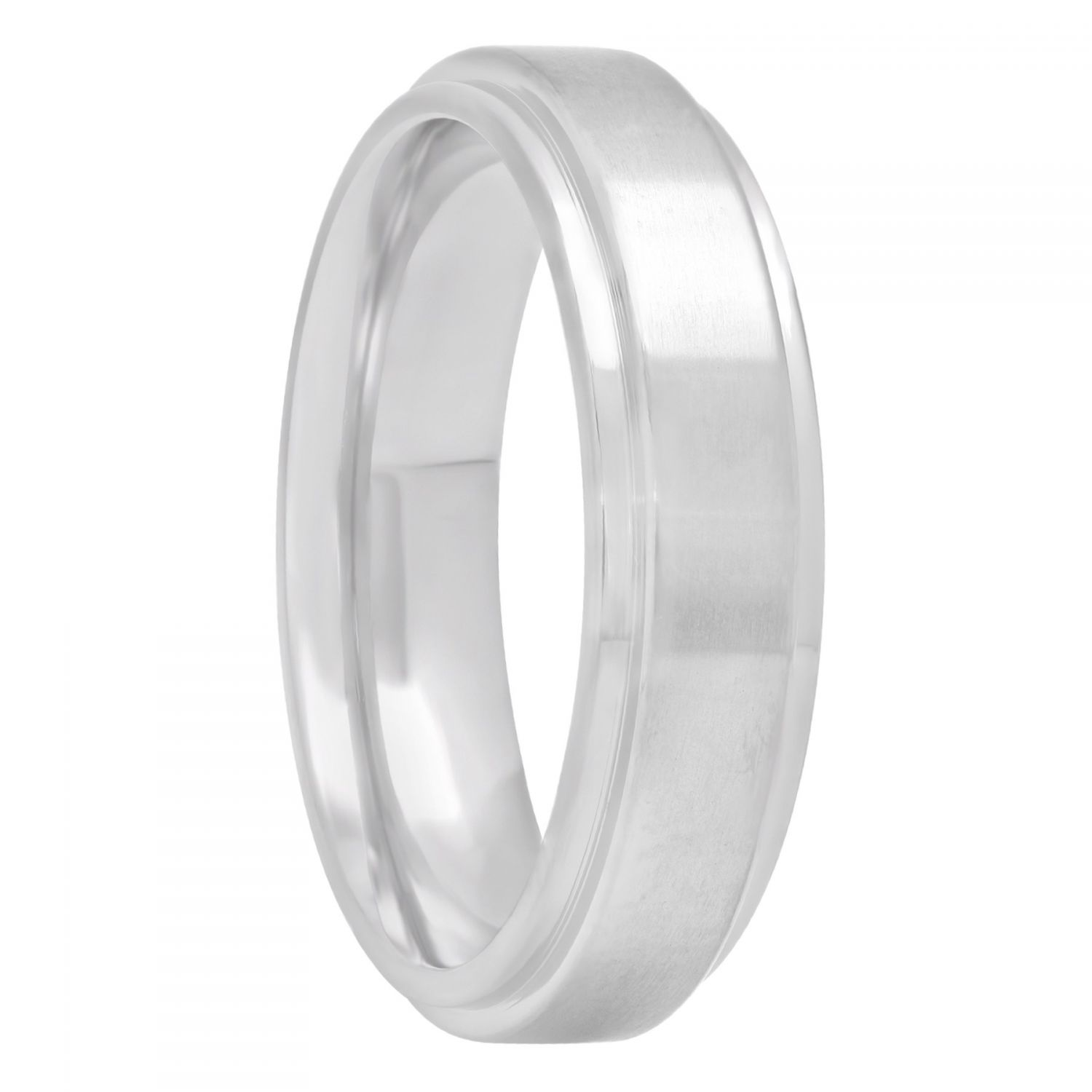 Titanium Step Edge Band, 6mm
