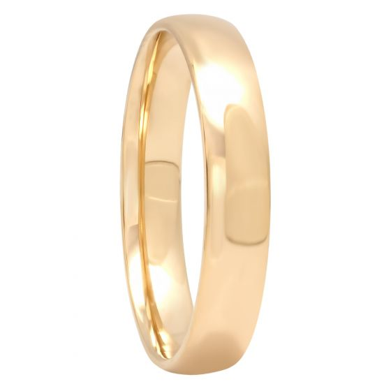 14KT Yellow Gold High Polished Band