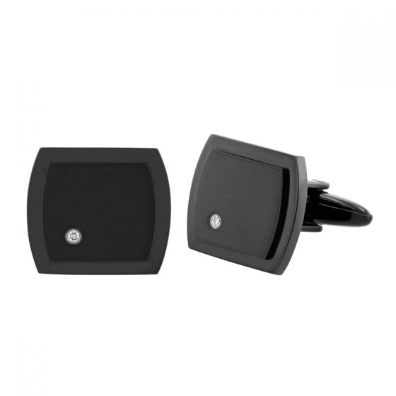 Stainless Steel Black Ion Plating Cufflinks