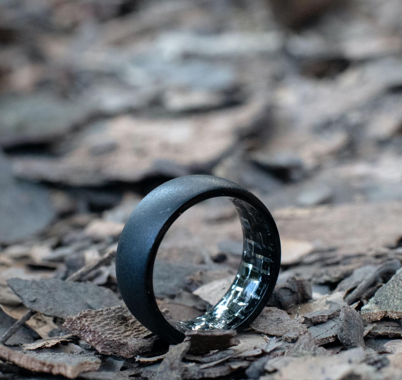 All Black Everything - Black Wedding Bands from Jordan Jack